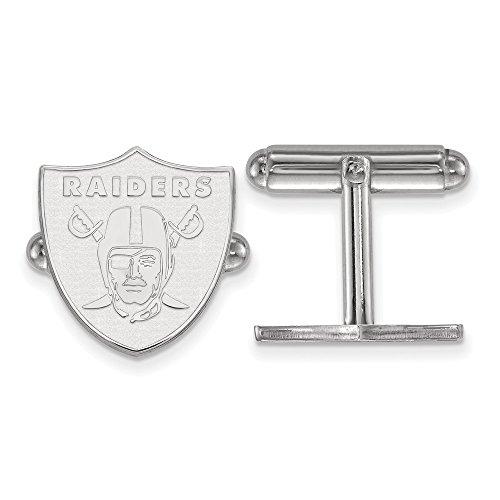 Oakland Athletics Cufflinks (Sterling Silver Oakland Raiders Cuff Link)