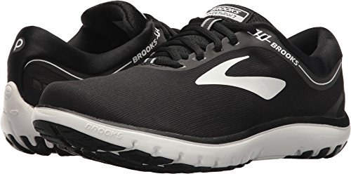 Brooks Women's PureFlow 7 Black/White 9.5 B(M) US