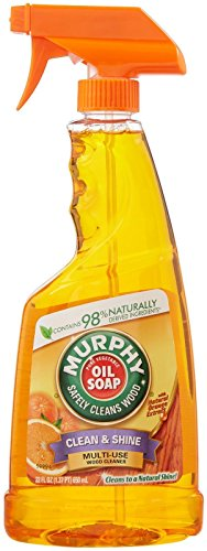 Oil Trigger Spray Cleaner Orange - Murphy Oil Multi-Use Wood Cleaner Spray with Orange Oil - 22 oz