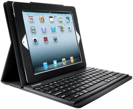 Kensington KeyFolio Pro Bluetooth Negro Teclado para móvil - Teclados para móviles (Negro, Mini, iPad 2, 430 mAh, Ión de Litio, 90 h)