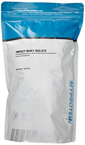 Myprotein Impact Whey Isolate Protein Chocolate Smooth, 1er Pack (1 x 1 kg)