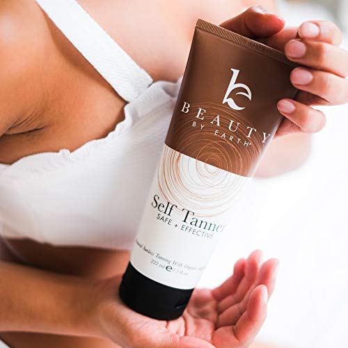Beauty By Earth Self Tanner with Organic & Natural Ingredients