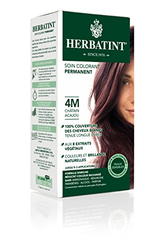 herbatint hair color 4m mahogany chestnut fluid ounce herbatint beautil. Black Bedroom Furniture Sets. Home Design Ideas