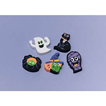12 Pack Halloween Erasers Party Favours