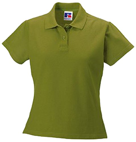 Jerzees Ladies Ultimate Pique Cotton® lo Shirt XS Cactus Green