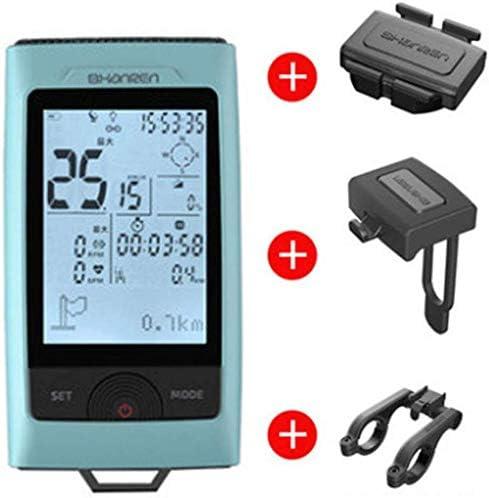 LFDHSF Cuentakilómetros GPS para computadora de Bicicleta con ...