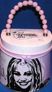 Hannah Montana Tin Box - Hannah Montana Zipper Tin