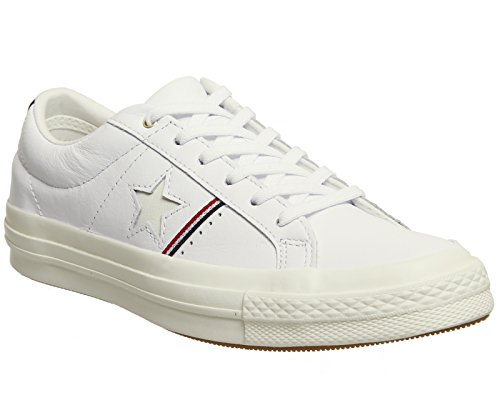 Converse One Star Ox Unisex Trainers White - 6 UK