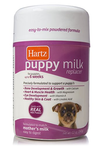 - Hartz Powdered Puppy Milk Replacer - 12oz