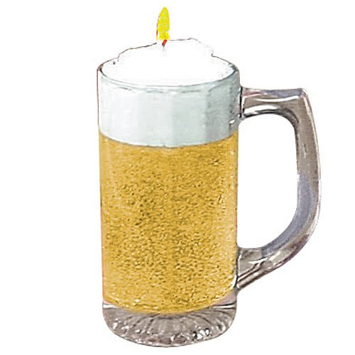 Beer Mug Candle by Shindigz
