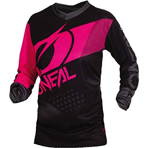 O'Neal Racing Element Wild Boy's Off-Road Motorcycle Jersey - Black/White/Medium