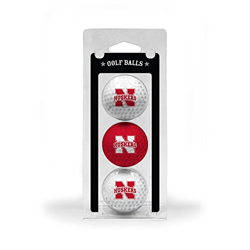 University of Nebraska 3-Pack Golf Balls (Balls University Golf 3)