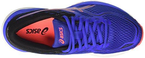 Asics Gel-Cumulus 19 GS, Zapatillas de Running Unisex Niños Varios colores (Blue Purple / Black / Flash Coral)