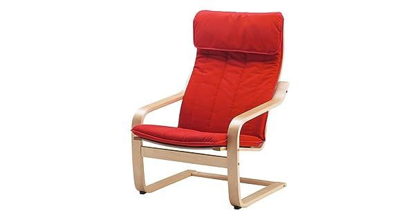 Amazon.com: IKEA poang silla sillón y reposapiés Set con ...