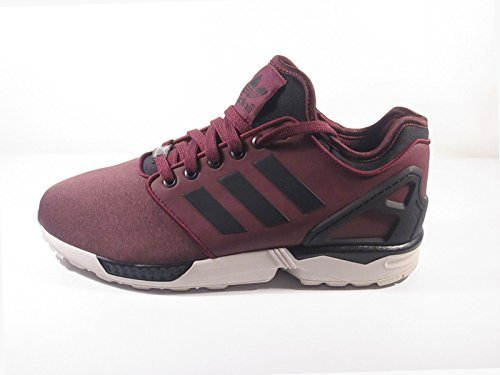 Adidas ZX Flux NPS 2.0 Mens Running Trainers Sneakers Shoes (uk 10.5 us 11 eu 45 1/3, MAROON/CBLACK/CBROWN M21614)