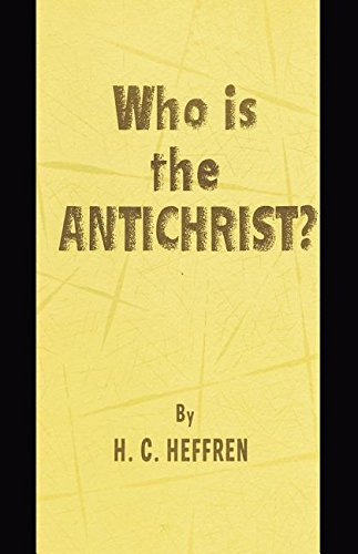 Read Online Who is the AntiChrist? pdf epub