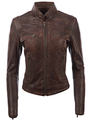 Lady Leather Jackets - 6
