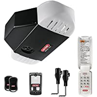 Genie 1.25 HP Ultra Quiet Stealthdrive Belt Drive Garage Door Opener with Battery Back-Up
