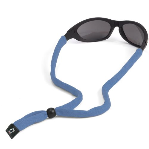 Chums Original Cotton Standard End Eyewear Retainer, Carolina Blue