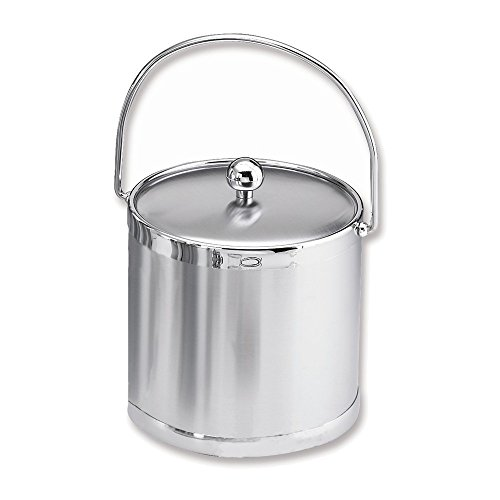 Jewelry Adviser Gifts Brushed Chrome Ice Bucket