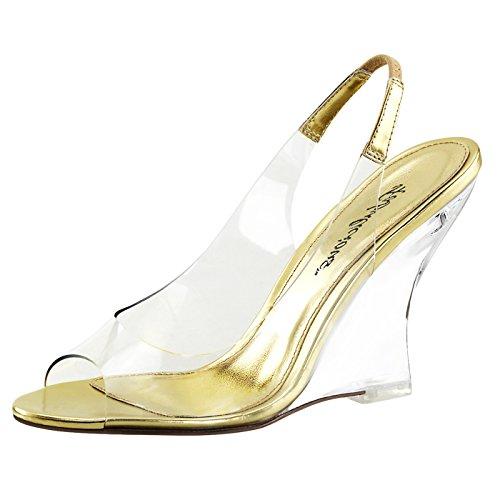 Keilabsatz Sandaletten Lovely-450