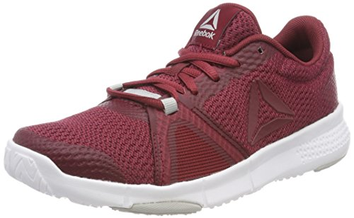 Urban Maroon Reebok Skull Chaussures White 000 Coal Rouge Femme Fitness Flexile de Grey wYqS1