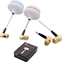 Masalong 5.8G Gain Petals Clover Mushrooms Antenna Set For FPV System L Type SMA Male