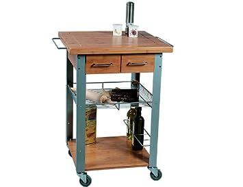 KESPER Küchenwagen Bambus: Amazon.de: Küche & Haushalt | {Küchenwagen kesper 24}