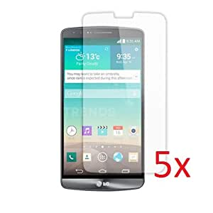 eTECH Collection 5 Pack of Anti-Glare Matted Finishing Screen Protectors for LG G3 VS985 -- Free Shipping from USA