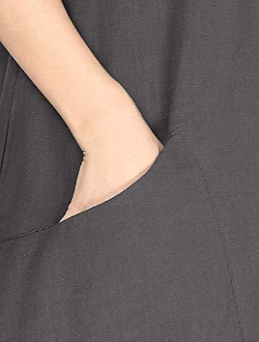 Foncé Couleur Jaune Shirt Taille Col Longues Rond E Femme Xxl Zhrui htdxsrCQ