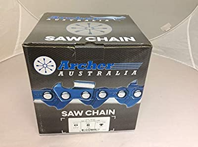 Archer Chainsaw Chain 100ft Roll 3/8LP .050 Semi-Chisel
