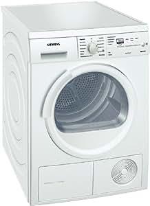 Siemens iQ500 - Secadora (Independiente, Frente, Bomba de Condensación/Calor, 6 kg, B, 66 Db) Color blanco