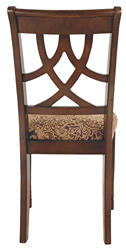 home, kitchen, furniture, kitchen, dining room furniture,  chairs 8 discount Ashley Furniture Signature Design - Leahlyn Dining Upholstered Side in USA