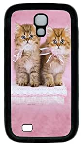 Cool Painting Samsung Galaxy I9500 Case, Samsung Galaxy I9500 Cases -Pretty Kittens Custom PC Soft Case Cover Protector for Samsung Galaxy S4/I9500