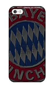 9526742K31585862 Fashion Case Cover For Iphone 5/5s(bayern Munchen Fc Logo)