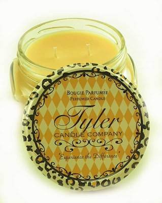 1 X HOMECOMING Tyler 11 oz Medium Scented Jar Candle Tyler Candle 11136