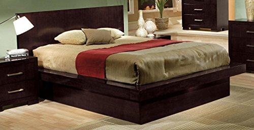 Jessica Modern King Platform Bed 6 pc Bedroom Furniture Set