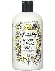 Poo-Pourri Before-You-Go Toilet Spray 16 oz Bottle, Original Citrus Scent