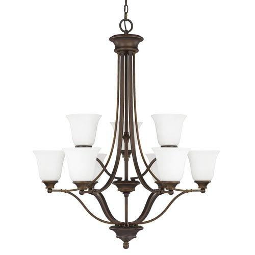 Belmont Outdoor Chandelier - Capital Lighting 3419BB-242 Nine Light Chandelier