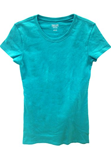- Kirkland Signature Ladies Premium 100% Pima Cotton Crew Neck T-shirt