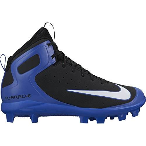 Nike Mens Alpha Huarache Pro Mid Mcs Bitta Da Baseball Nero / Bianco / Gioco Reale