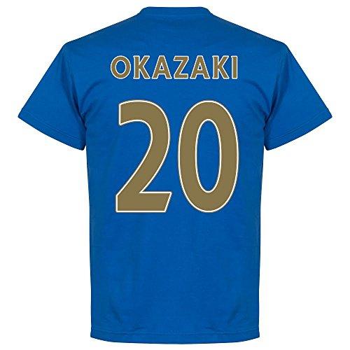 Leicester Champions Okazaki 20 T-shirt - blau
