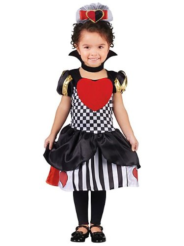 Toddler Queen Of Hearts Costumes (Toddler Queen of Hearts Costume T34T)