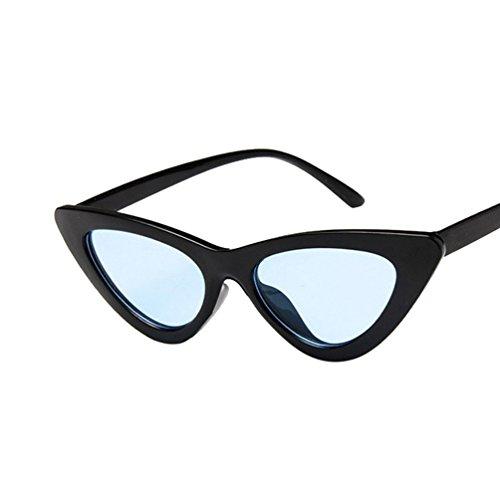 Ojo Sol Lentes Triangular Gato Mujer Negro HD Ligero Nuevo Gafas Polarizadas De De Azul Marco Ketamyy Marco qBWPE8E
