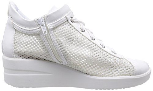 CHAMBERS A Bianco NEW AGILE RUCOLINE zeppa TOP sneakers BY 226 donna z7STZY