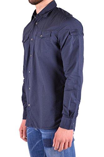 Woolrich Uomo Blu Cotone Camicia Wocam0674lr053107 PPrS7Uxw