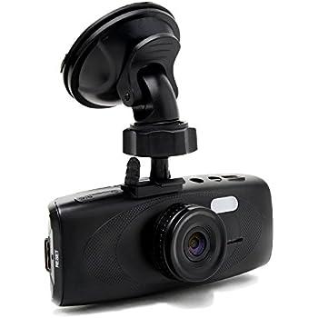 "Black Box G1W-HC Hidden Capacitor Dashboard Dash Cam - WDR 160° Wide Angle 4X ZOOM - Full HD 1080P H.264 2.7"" LCD Car DVR Video Recorder - Night Vision Motion Detection G-Sensor - NT96650 + AR0330"