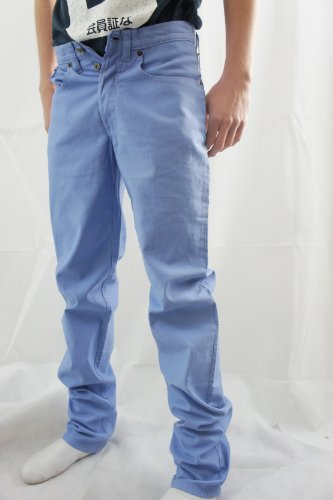 Paul Smith Pale Pastell Blau Gerade Passform Chino Jeans