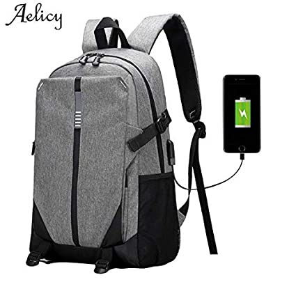 0882d7c37c Amazon.com  UATECH Aelicy Canvas Men Backpack School Bags for ...
