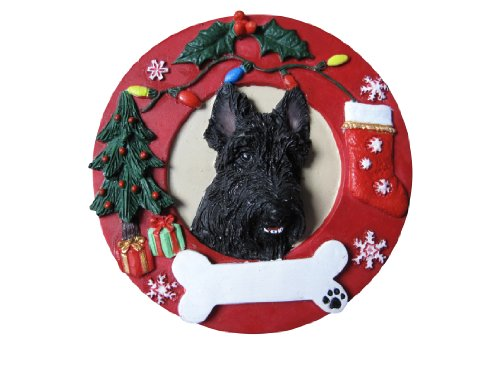E&S Pets Scottie Personalized Christmas Ornament